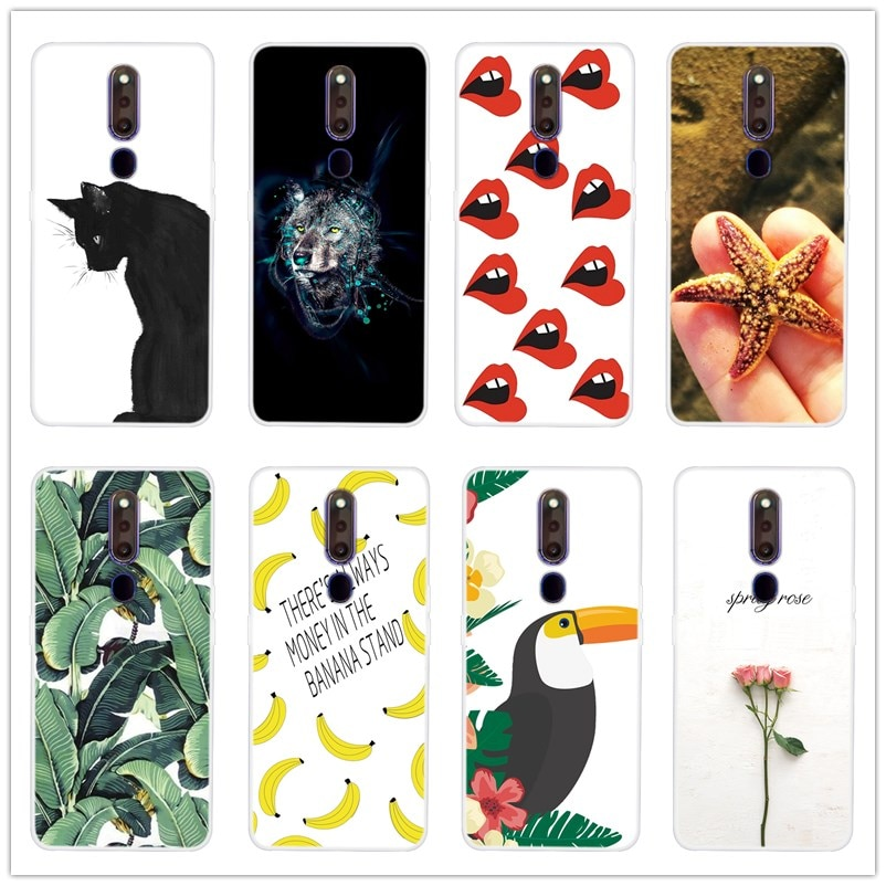 Cartoon Case For OPPO F11 Pro Case Soft Silicone Back Cover Phone Case For OPPO F11 Pro TPU Protecti