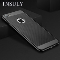 Чехол TNSULY для телефона iPhone 7 8 Plus 5 6 X S, матовый корпус, теплоотдача, дышащая абразивная крошка XR 11 Pro Max, Чехол 12 mini