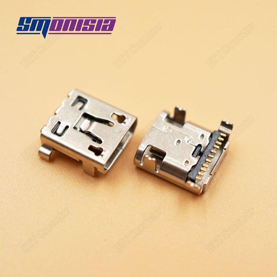 Smonisia 100 Uds puerto de carga de Conector Micro USB de alta calidad para LG G2 D802/D803 F320 Conector Micro USB