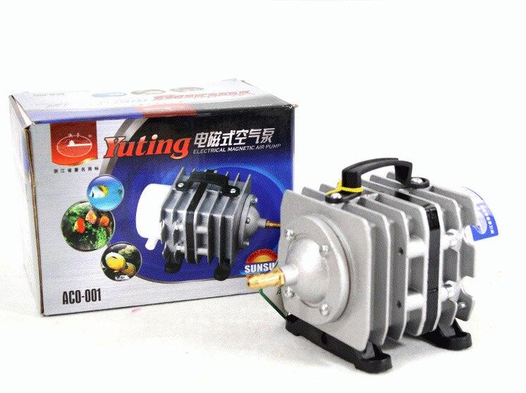 ACO-001 22 w 20L/min bomba de aire electromagnética para peces o mini máquina láser