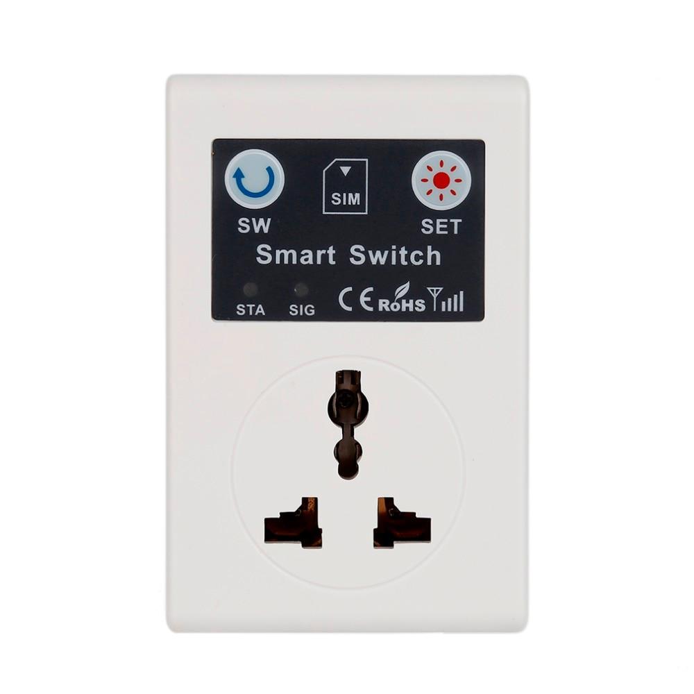Профессиональный беспроводной пульт дистанционного управления 220 В для телефона с дистанционным управлением, умная розетка GSM, штепсельная...