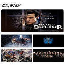 Yinuoda Doctor Who tapis de souris gamer tapis de jeu taille pour 40x90CM vitesse Version tapis de souris de jeu