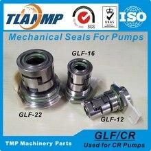 GLF-16 , JMK-16 joints mécaniques pour pompes multi-étages CR10/CR15/CR20   Taille darbre 16mm joints de cartouche (HQQV/HQQE/CR/CRI/CRN16)