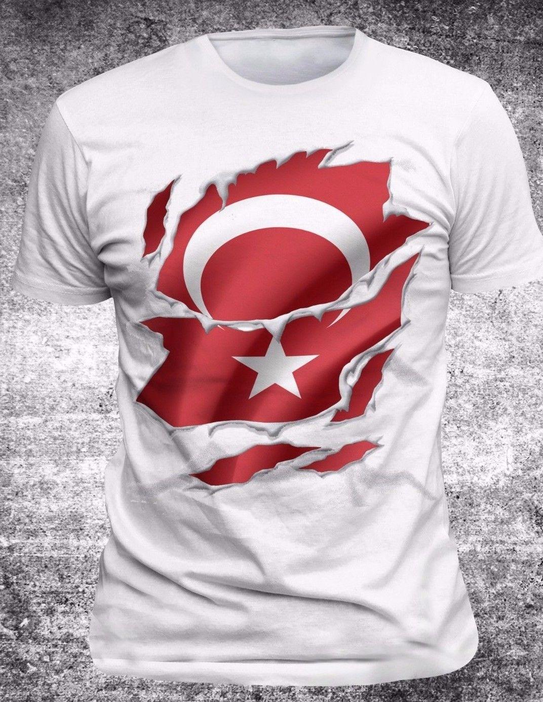 Hot Sale Mens CottonT-Shirt Turkiye Footballer Fans ,Istanbul,Turkey,Turkei Summer Style Tee Hip Hop Shirt Harajuku Streetwear