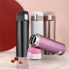 IVYSHION 350/500ML Thermos Mug Vacuum Cup Stainless Steel Car Bottle Insulation Tumbler Water Bottle Tea Mug Thermocup
