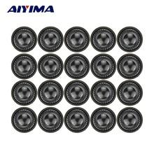 AIYIMA 20 pièces 1 Pouce 28 MM Mini Audio Haut-parleurs Portables 1 W 8 Ohms Écouteurs Haut-Parleur Haut-Parleur Pour Portable DVD/MVE