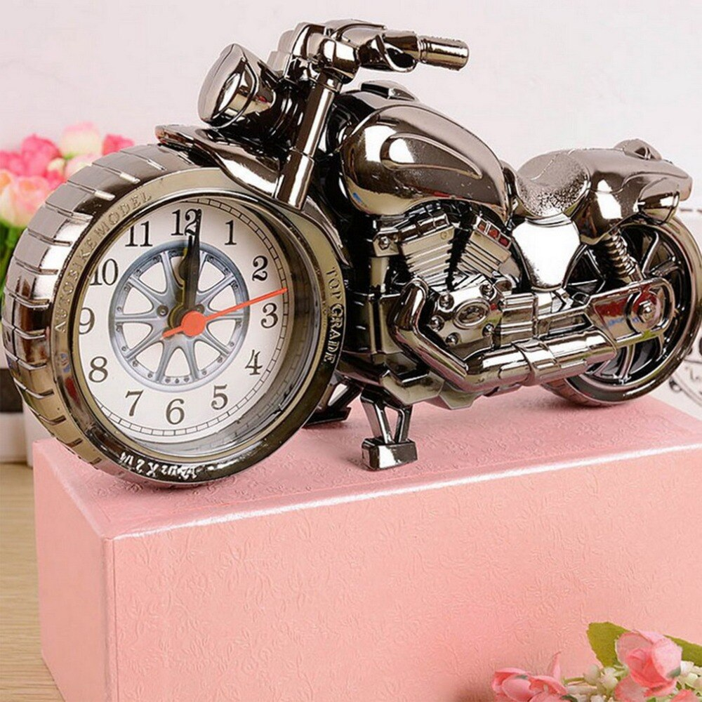 Cool Quartz Watch motocicleta creativa Vintage creativo escritorio bolsillo relojes moto patrón Relogio S