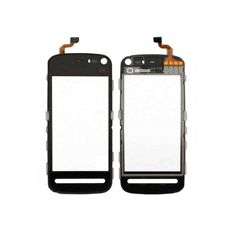 """Hohe Qualität 3.2 """"Für Nokia 5800 N5800 Touchscreen Digitizer Sensor Äußeren Glas Objektiv Panel Schwarz"""