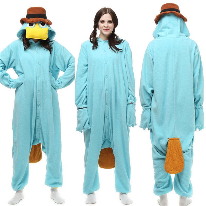 Взрослые пижамы-кигуруми, женская одежда для сна, платформа, браслет