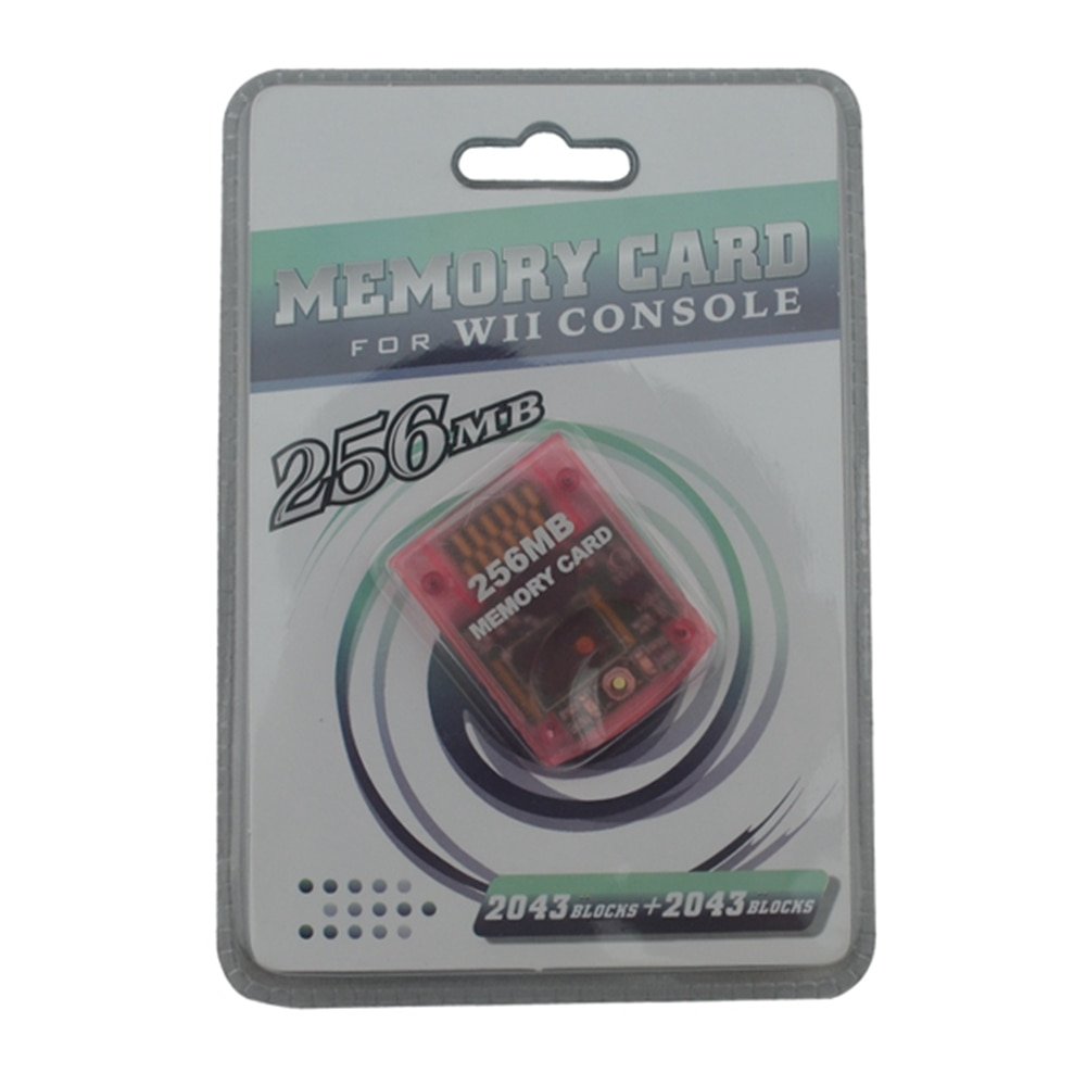 Gran calidad para Wii 256MB ahorro de tarjeta de memoria para Wii para GameCube para N-GC regalo de Navidad