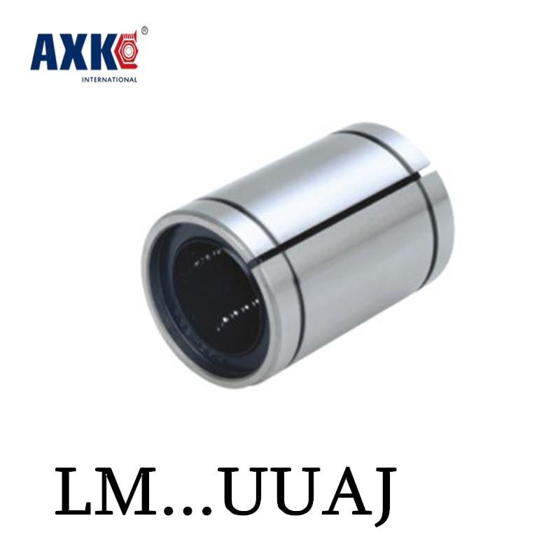 Axk 4 pçs lm10 lm10uuaj lm10aj 10mm x 19mm x 29mm linear rolamento de esferas bush bucha alta qualidade frete grátis