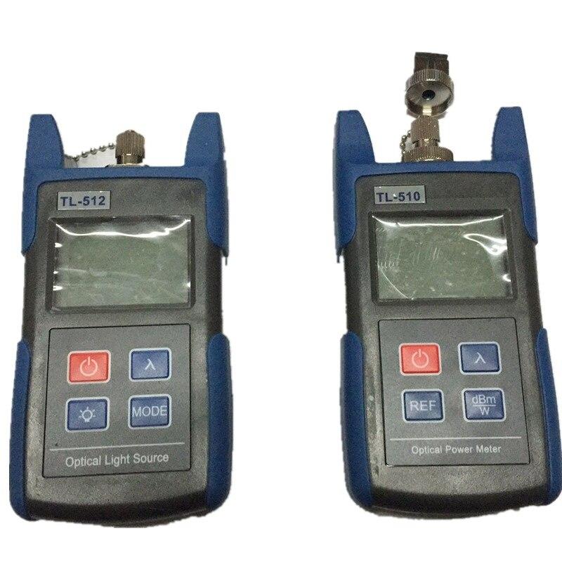 Medidor de potencia de fibra óptica TL510A o TL510C de mano fuente de luz óptica TL512 1310/1550nm