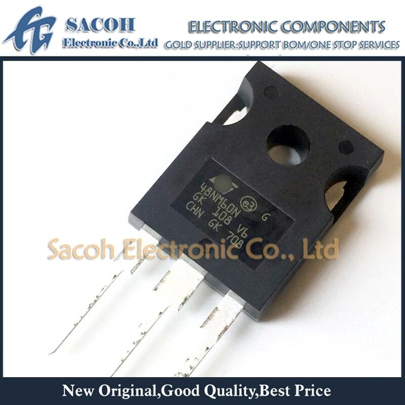 Envío gratis 10 Uds STW48NM60N STW48NM60 48NM60N STW48N60M6 48N60M6-247 48A 600V N-ch MOSFET Transistor