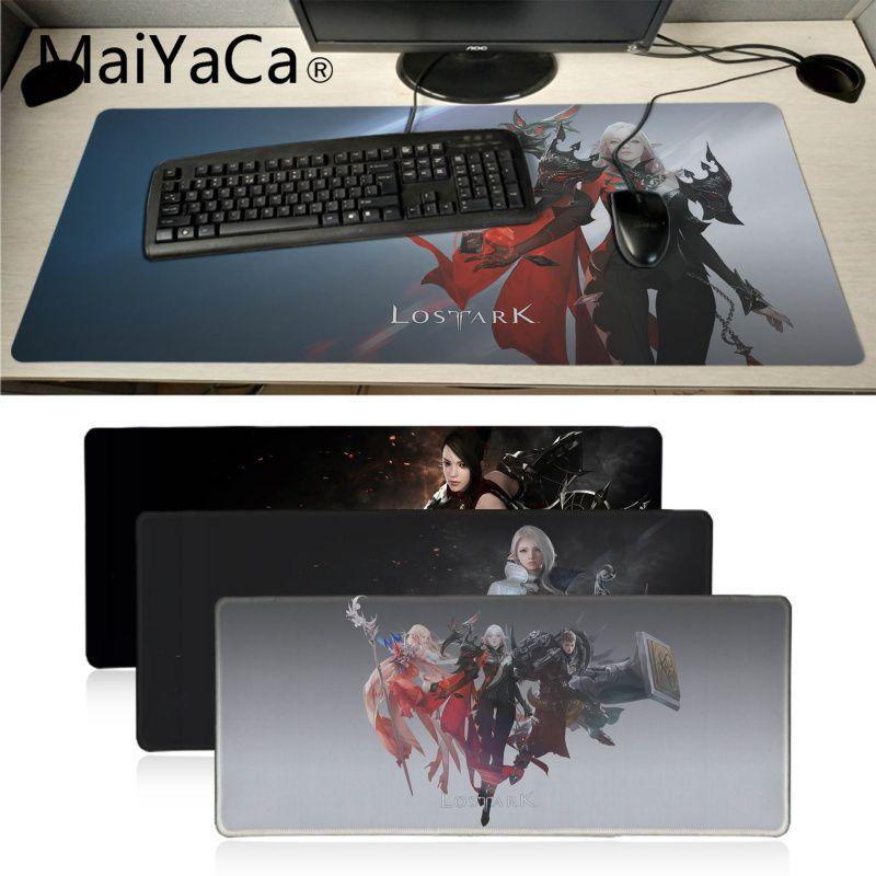 Игровой коврик для мыши Maiyaca LOST ARK Office, мягкий коврик для мыши, игровой коврик для мыши xl, скоростной коврик для клавиатуры, мыши, ноутбука, нас...