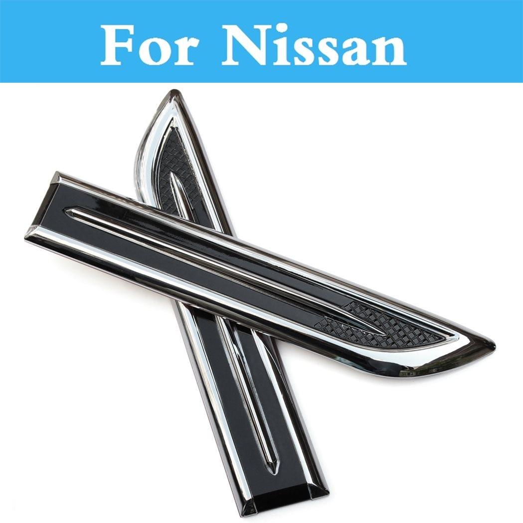10 Uds Abs cromo simulación adhesivo Abs para Nissan patrulla Pino Pixo Presidente Primera Pulsar Otti (días) Pathfinder