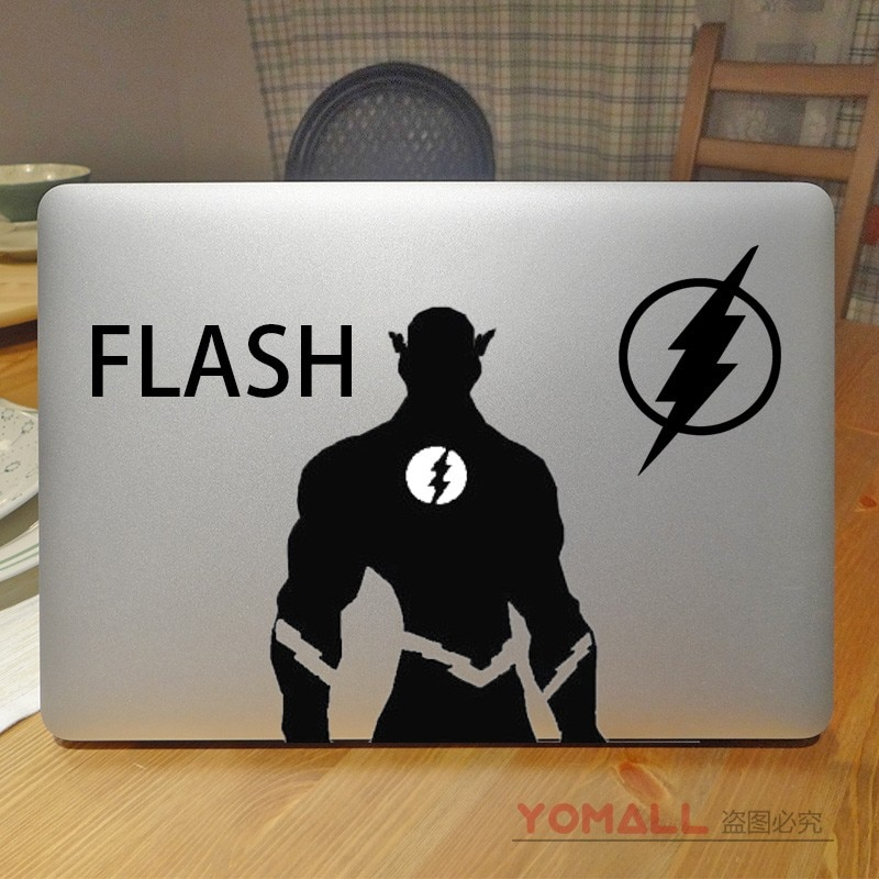 "The Avengers of the Flash Superhero Laptop Decal for 11"" 12"" 13"" Apple Macbook Sticker Pro Air Retina 15.6 HP Mac  Notebook Skin"