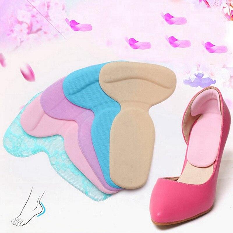 Plantillas de silicona antideslizantes para calzado, 1 par de plantillas de Gel para el cuidado de los pies, suaves y multicolores, Nis 2018