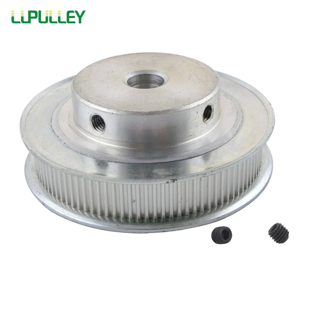 Ременный шкив LUPULLEY MXL 160 T, ширина шкива синхронизации 11 мм, колеса 10/12 мм, диаметр отверстия из алюминиевого сплава, 160 зубцов