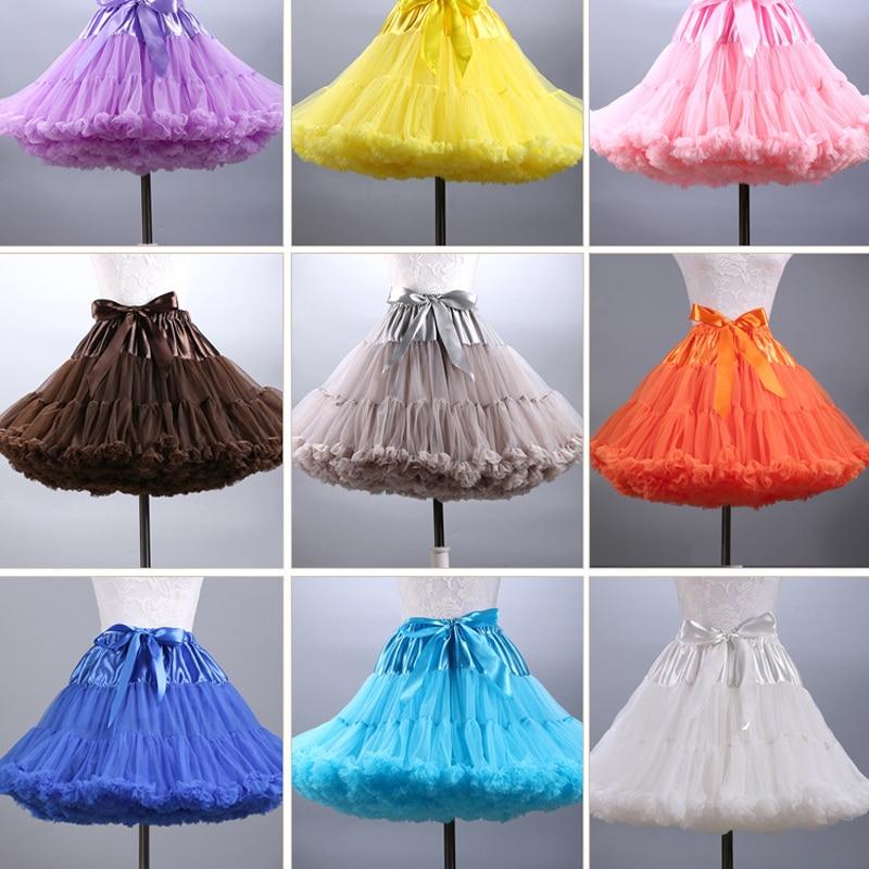 New Arrival Women MIni Petticoat Tulle Puffy Short Vintage Wedding Bridal Petticoat Underskirt Rockabilly Tutu