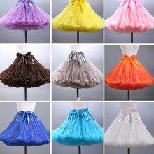 2019 neue Ankunft Frauen MIni Petticoat Tüll Puffy Short Vintage Hochzeit Braut Petticoat Unterrock Rockabilly Tutu