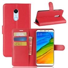 Housse de téléphone à rabat en cuir PU pour Xiaomi Redmi k20 5 6 7 pro GO Redmi 7A 5A 6A 4X Coque pour téléphone portable