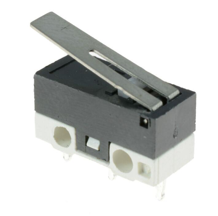 10 x Ultra Mini palanca actuador microinterruptor SPDT Sub miniatura Micro interruptor
