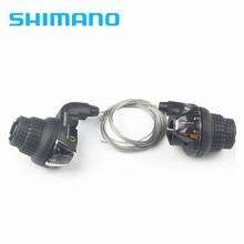 Shimano SL-RS35 3x6S 3x7 18 Vitesses 21s VTT Vélo Vélo manette de vitesse torsion Manette de vitesse levier de Frein/Manette de vitesse Combo ensemble