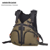 Fly fishing kayak life vest life jacket Professional Luya Buoyancy fishing vest Buoyancy 90KG