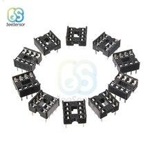 20Pcs 8 Pin 8 Pin Dip-8 8DIP 8 Dip Ic Sockets Adapter Solder Type