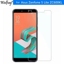 2 pièces verre de protection Asus Zenfone 5 Lite ZC600KL protecteur décran HD clair verre trempé pour Asus Zenfone 5Q ZC600KL Film 6.0