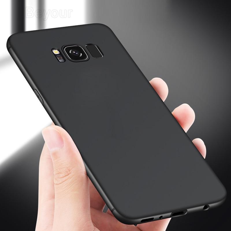 Ультратонкий чехол для Samsung Galaxy A51 A71 A70 S6 S7 Edge S8 S9 S10 S10e S20 Plus Note 10 20, противоударные жесткие чехлы из поликарбоната