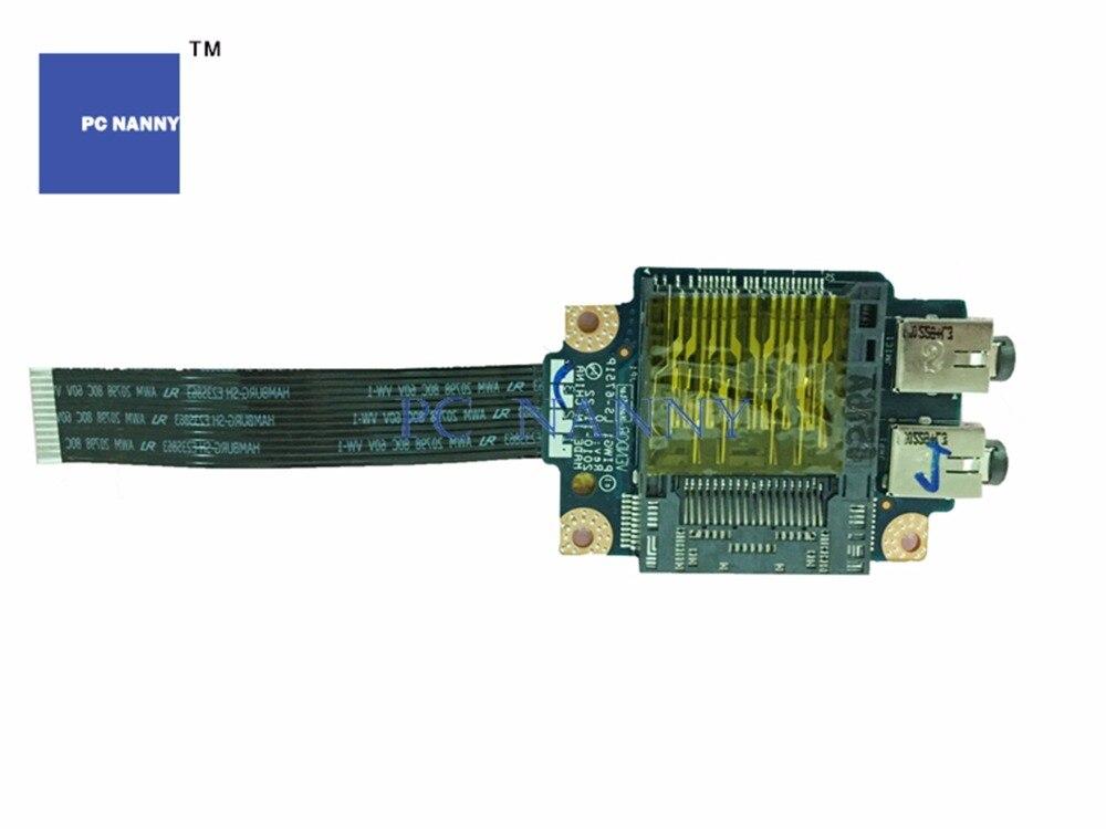 PCNANNY genuino Original para Lenovo G570 G575 G470 G575 de sonido de Audio Junta placa lectora de tarjetas ls-6756p funciona