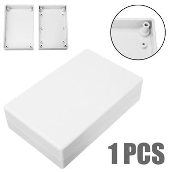 Carcasa de proyecto electrónico blanca carcasa de plástico impermeable 125x80x32mm para unidades de suministro de energía