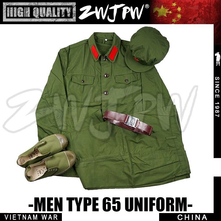 Uniforme del ejército soldado chino 65 Conjunto completo