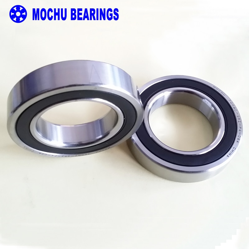 1 Pair MOCHU 7008 7008C 2RZ P4 DB A 40x68x15 40x68x30 Sealed Angular Contact Bearings Speed Spindle Bearings CNC ABEC-7