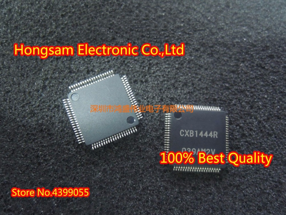 Original nuevo (5 piezas) CXB1444R CXB1444 TQFP80 (5 piezas) CXD9788AR CXD9788 QFP48
