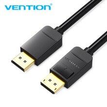Vention Displayport câble DP à DP câble ordinateur TV adaptateur affichage port connecteur pour PC Macbook HDTV projecteur 4K 60Hz 1m2m5m