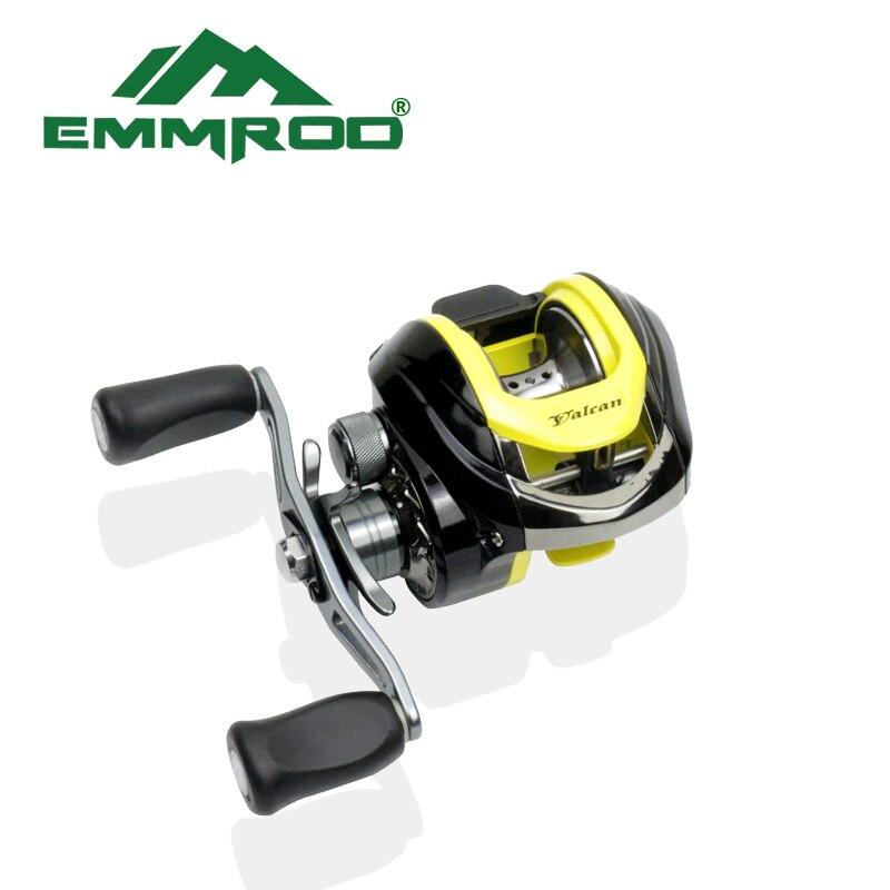 EMMROD Bait Casting Rod 55cm Ebony Handle High Quality Fishing Rod Boat Lure Rod Portable Fish Gear Rock Ice Telescopic FQ-WD enlarge