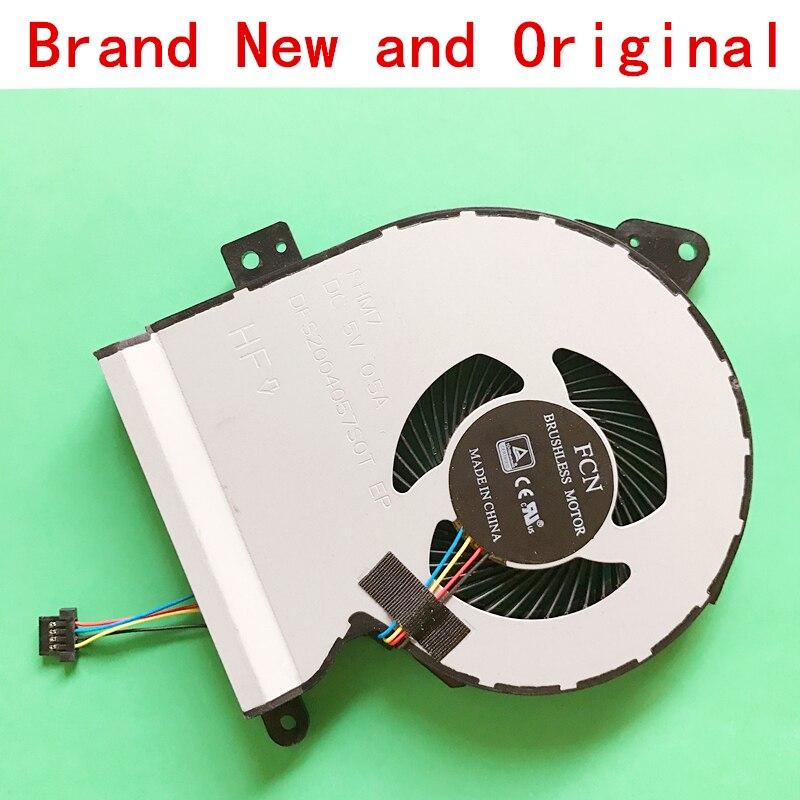 New CPU laptop cooling fan Notebook Cooler radiador para ASUS X540SA VM520U X540S X540SC X540LA X540LJ X540YA X540L X540 F540
