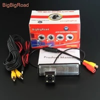 bigbigroad car rear view backup parking camera for mitsubishi pajero sport pajero dark 2008 2009 2010 2011 2012 2013 2014 2015