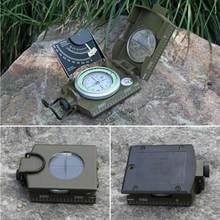 Professional Compass Outdoors Metal Sighting Luminous Compass Clinometer Camping YS-BUY