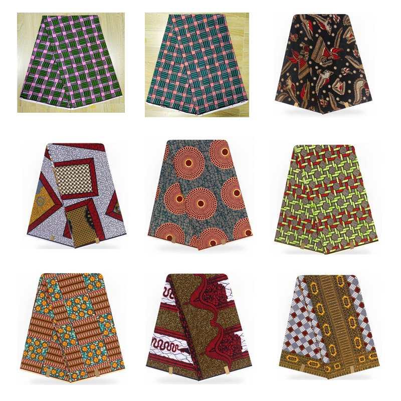 Tecido para Mulher Projetos Tissus Africain Hitarget Nigeriano 100% Algodão Ancara Real Cera Jérsei Vestido 2021 15