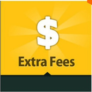 Extra fee this link for repay item or resend package