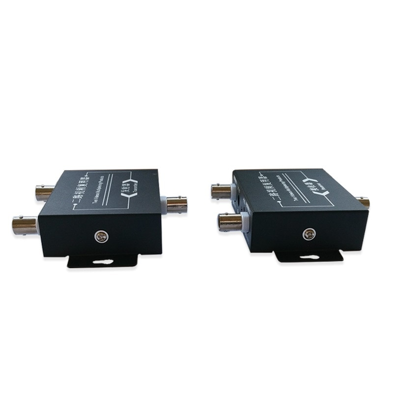 1pair 2CH video multiplexer AHD ahd camers multiplextor 2 HD path adder compound dual path monitoring two way video multiplexer enlarge