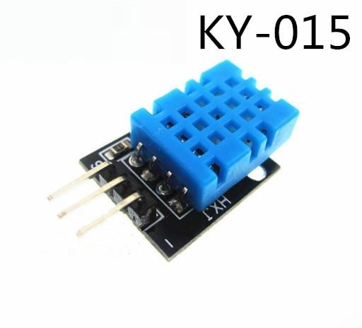 10PCS/LOT KY-015 Temperature and humidity sensor module   application DHT-11 DHT11+PCB