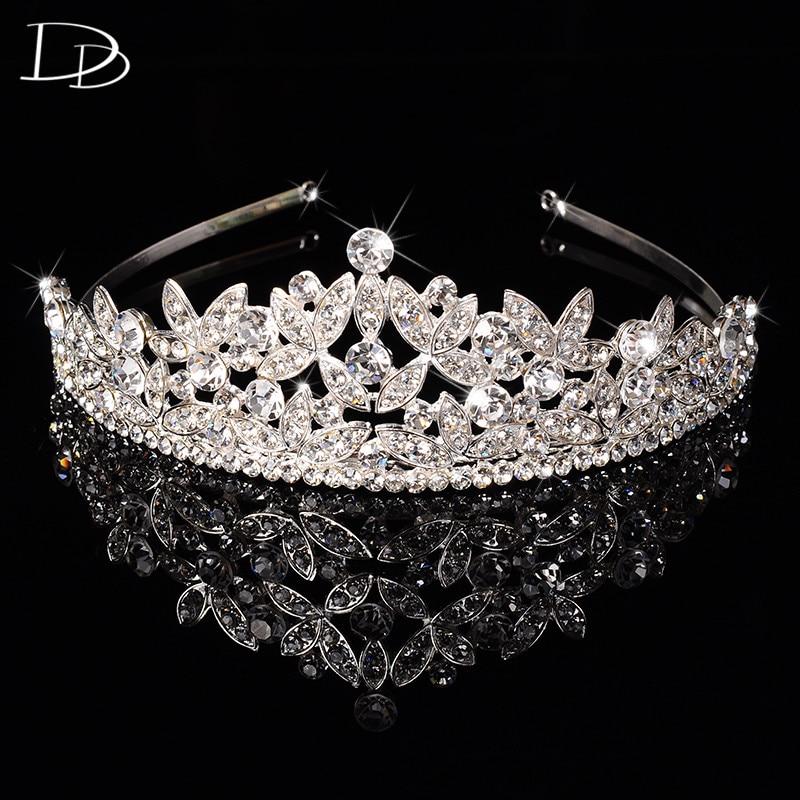 DODO Luxury tiara de cristal austriaca joyería mujer nupcial diadema princesa corona...