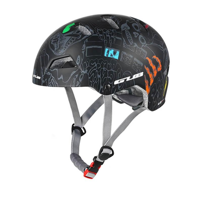 GUB V1 Round Mountain Bike Helmet Men Women Outdoor Skating Climbing Extreme Sports Safety Helmet Racing Road Helmets 55-61cm