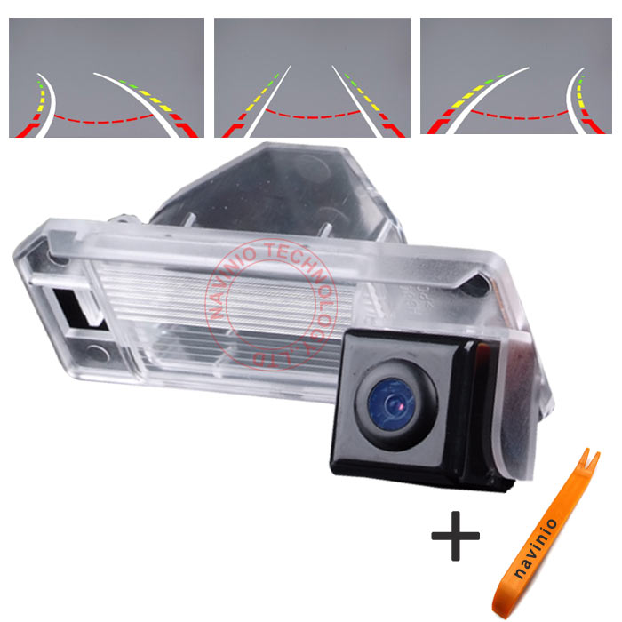 CCD track Camera Reversing Trajectory Back Rear View Camera Integrative Dynamic Path For Mitsubishi ASX RVR Outlander Sport HD
