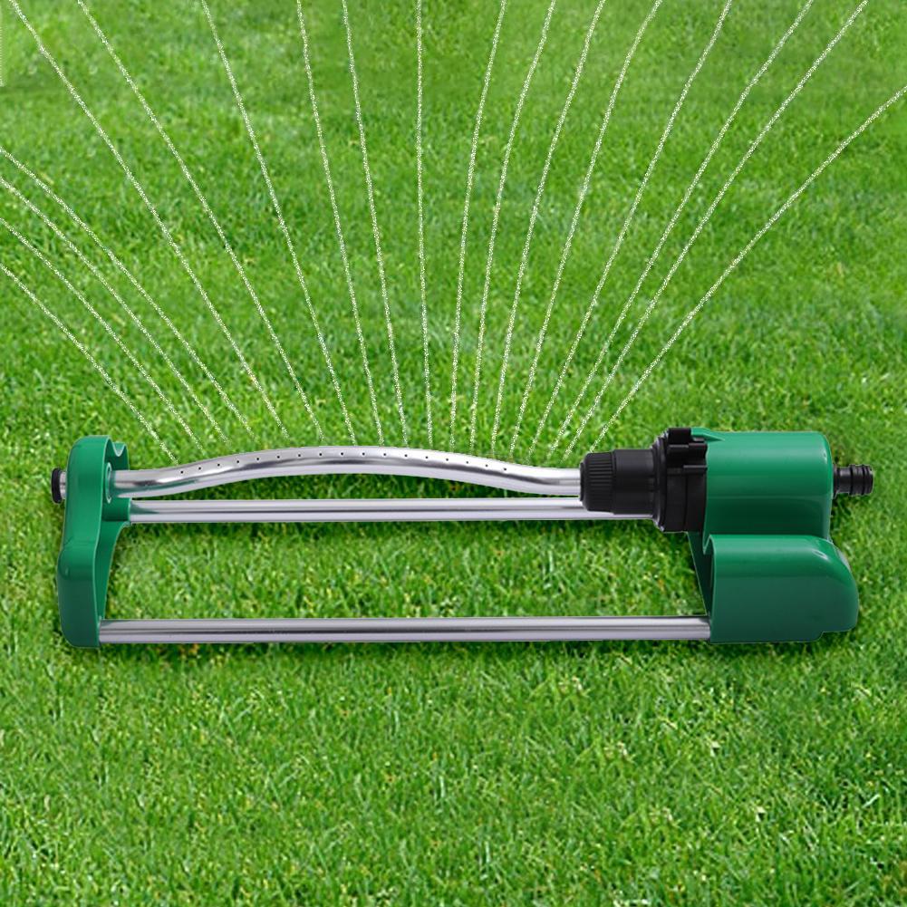 Jardim gramado 17 buraco de alumínio balanço verde irrigação sprinklers telhado refrigeração jardim oscilante metal gramado sprinkler