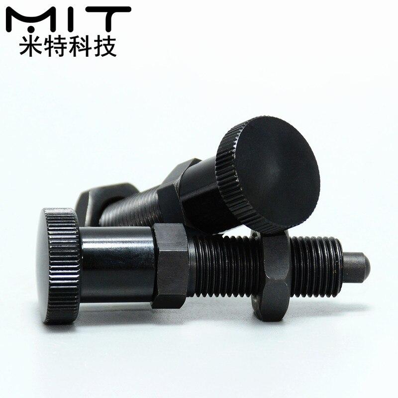 Knob indexing pin spring plunger split positioning stroke plunger spring bolt